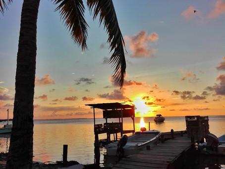Go slow auf Caye Caulker *Belize*