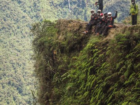 Mountainbiken auf der Todesstraße *Bolivien*
