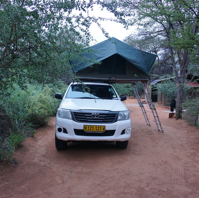 Camp Site in Namibia