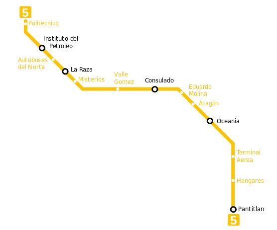 Metro gelb
