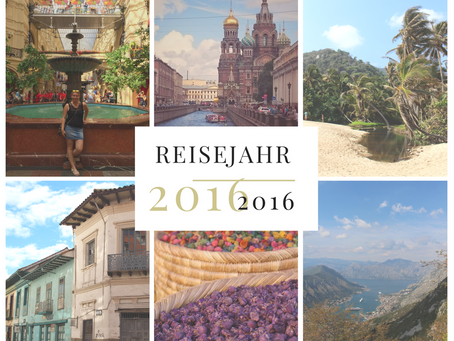 Reiserückblick 2016: Streifzug durch 13 Länder