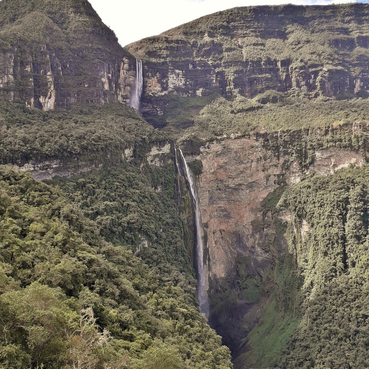Gocta Wasserfall