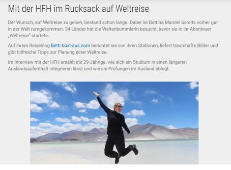 Ausgefragt - im Interview mit der Hamburger Fernhochschule