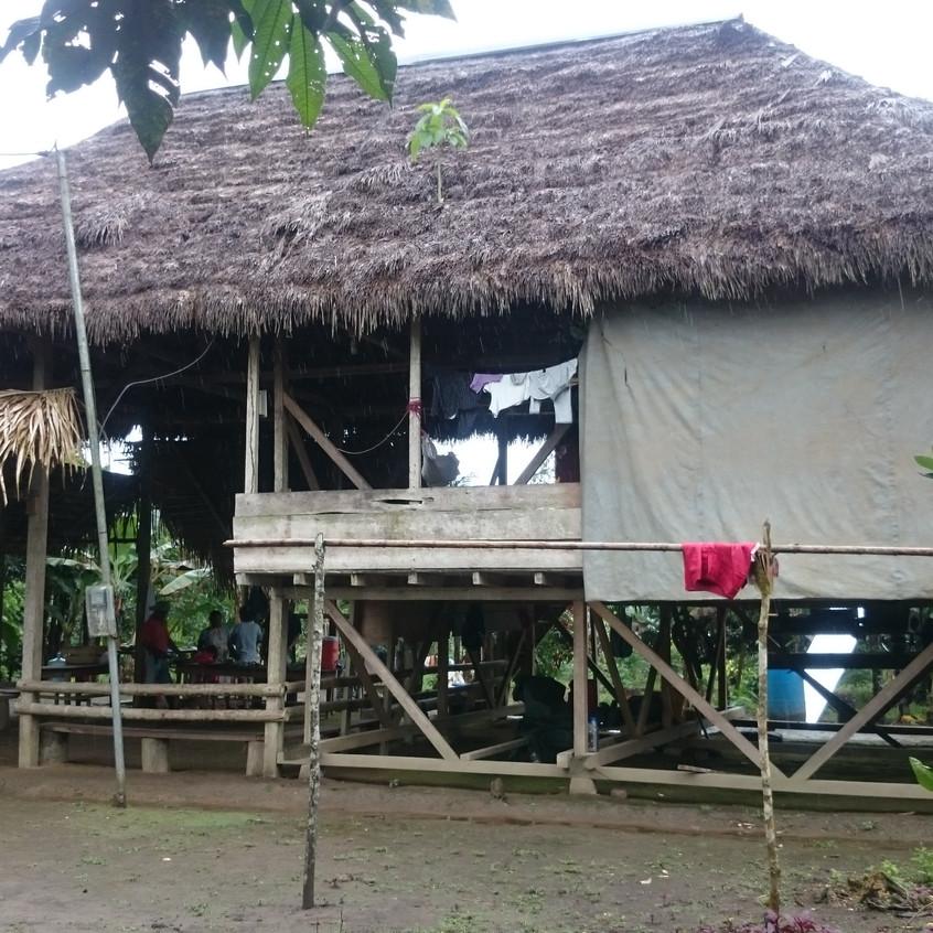 Haus der 11-köpfigen Familie