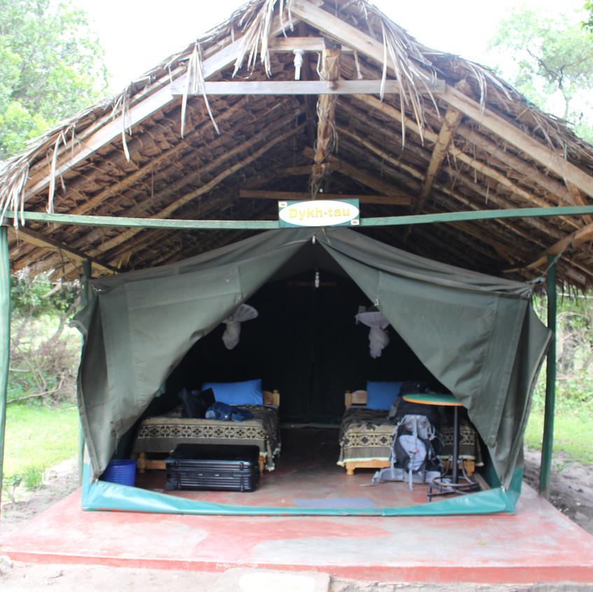 Camp in Kenia