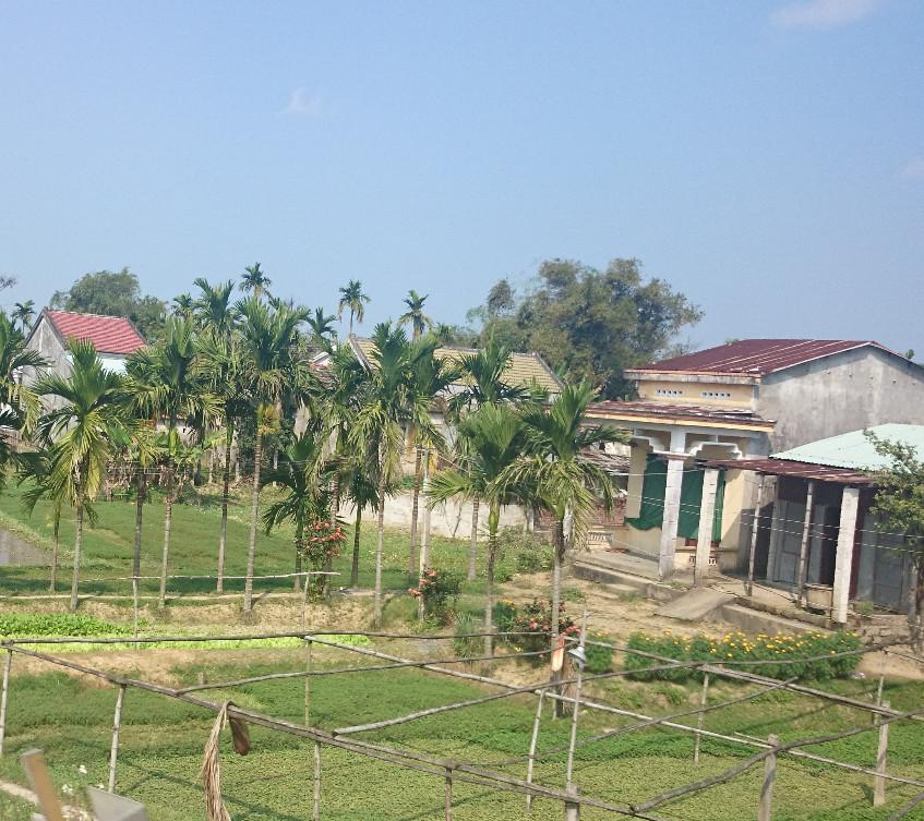 Dorf auf der Weiterfahrt