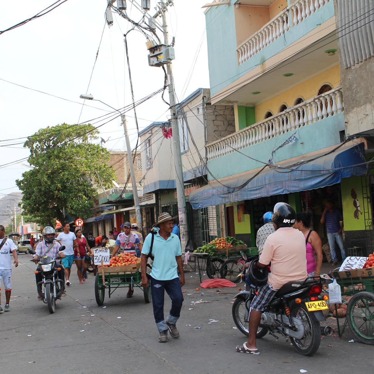 Markt in Santa Marta