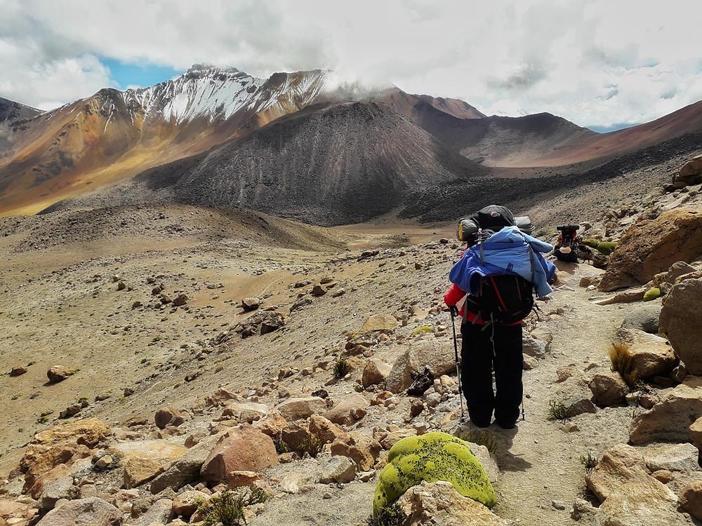 Bergwelt um den Chachani