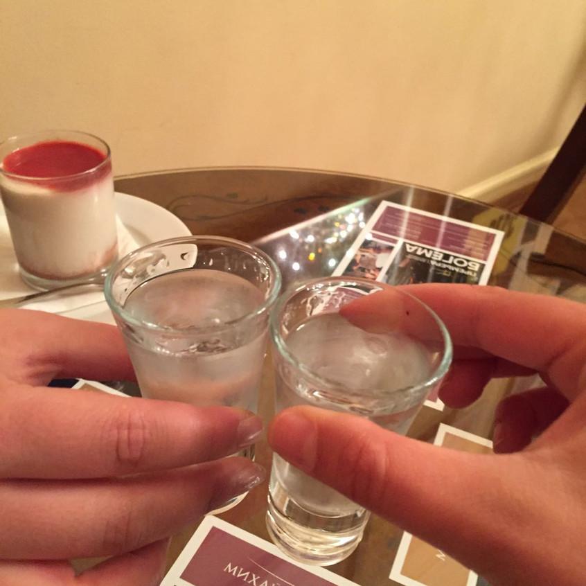 Vodka in der Pause ;-)