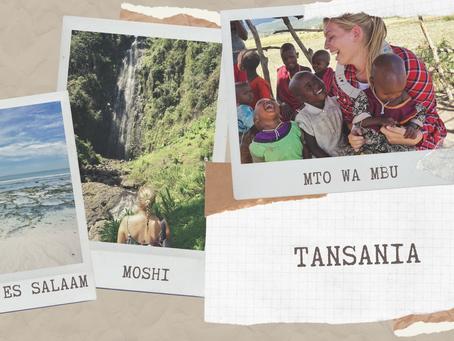 Meine Route durch Tansania