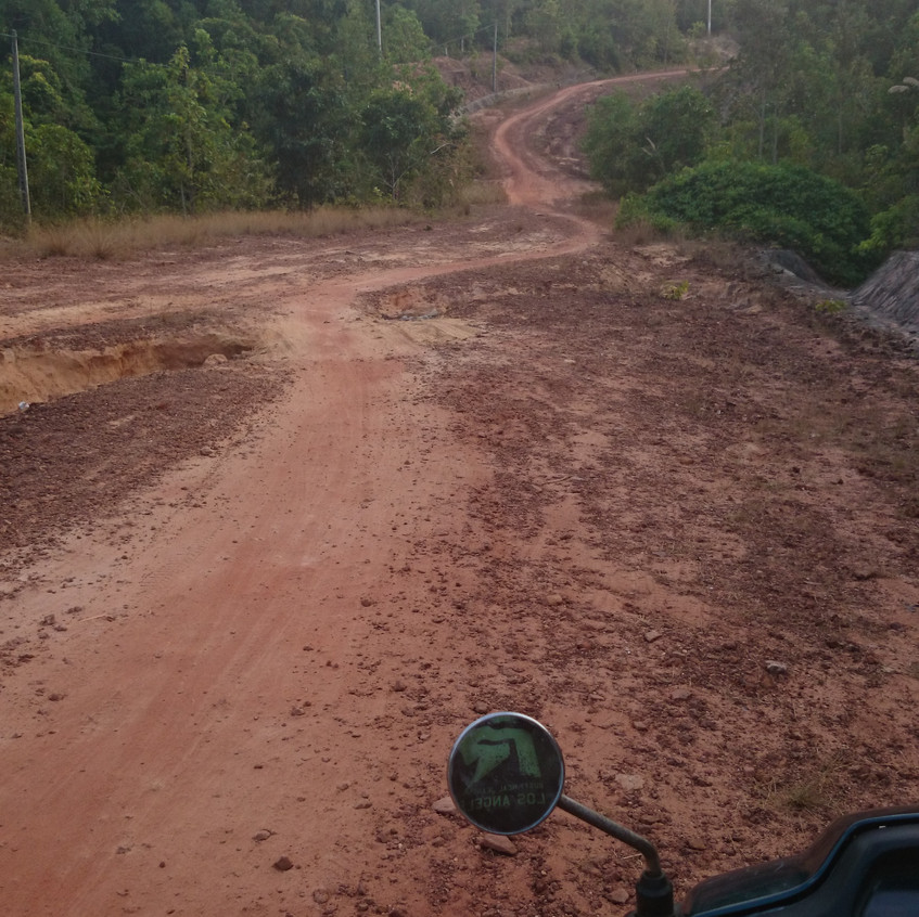 sandige Straßen