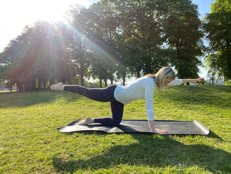 FREE Download: 5 Simple pilates exercises you can do EVERY day!