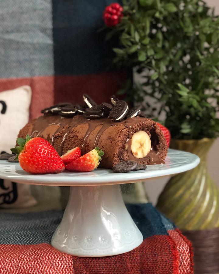 Muzlu Cikolatali Rulo Pasta