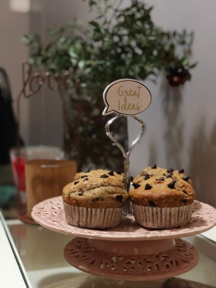 Fıstıkezmeli Banana Bread / Muffin