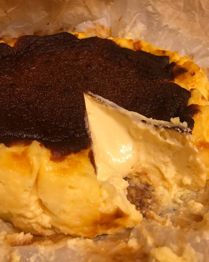San Sebastian Cheesecake - mascarpone ile
