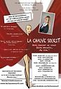Affiche La Chauve SouriT Caroline Le Flo