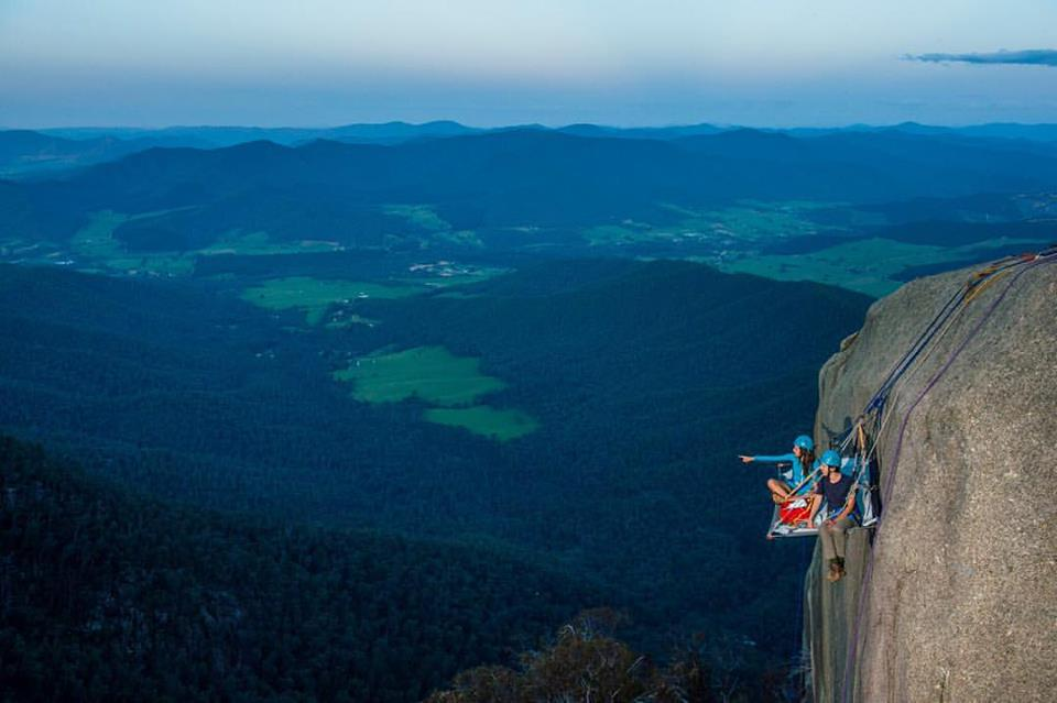 Mount Buffalo Rock Climbing