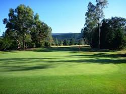 Bright country golf club