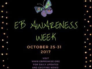 We're baaaackkk...EB Awareness Week!