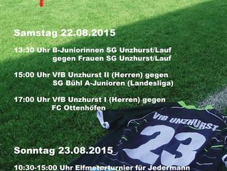 Sporthock des VfB Unzhurst!!!