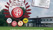 //90 Jahre VfB Unzhurst - SAVE THE DATE//