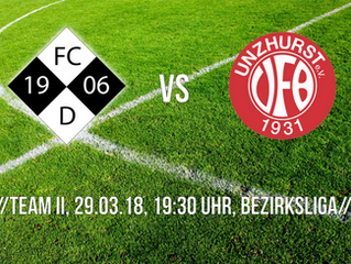//Update VfB Frauen & Team II vs. Durmersheim//