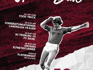 //50 Jahre Frauenfussball beim VfB Unzhurst - SAVE THE DATE//