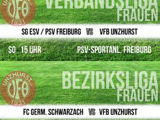 //Spielberichte Damen - Niederlage in Bischweier für Team II - Ausblick: Team I vs. SG ESV PSV Freib