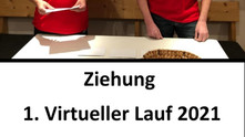 //Ziehung 1. VIRTUELLER LAUF 2021- HEUTE 15.00 Uhr auf unserer Facebook-Seite//