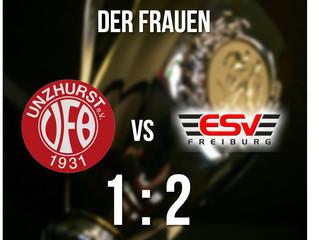 //Ergebnis Pokalspiel Frauen VfB vs. ESV Freiburg//