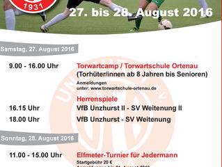 //Der VfB lädt ein zum Sporthock//
