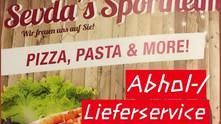 //Clubhaus-Gaststätte bietet einen Abhol-u. Lieferservice an//