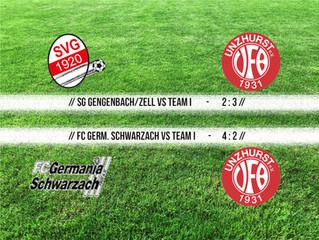 //Spielbericht Damen - Team I vs Gengenbach/Zell//