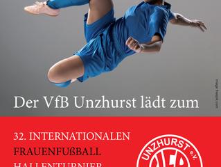 Vorbericht// 32. Internationales Frauenfußball Hallenturnier des VfB Unzhurst