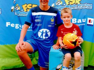 //Erfolgreiche Teilnahme am FSR-Fußball-Camp//