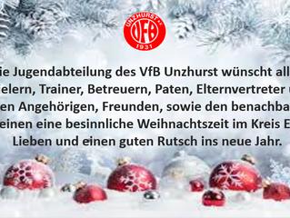 //Weihnachtsgruß Jugendabteilung//