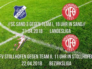 //VfB Damen - Wochenende vom 21. und 22.04.//