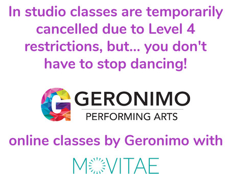 Geronimo classes are online with Movitae (Level 4 update)