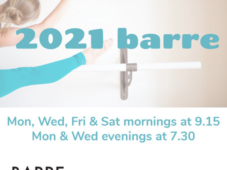 Come meet us at the barre!