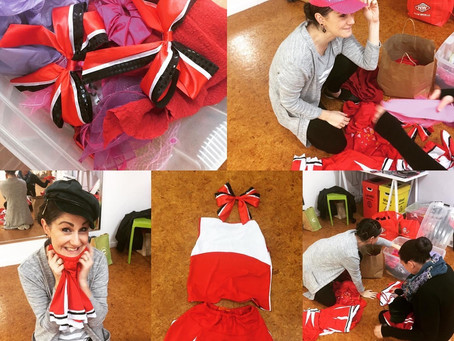 High School Musical Jr - costumes getting sorted. Get your tickets now!