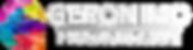 Geronimo Logo Landscae White.png