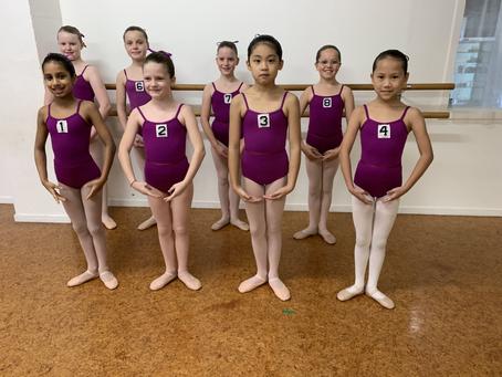 Ballet exams, June 2-5