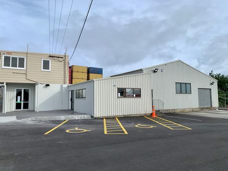 The new studio - 143 Pilkington Road