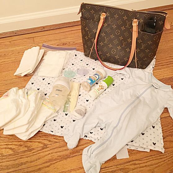what's in my diaper bag.