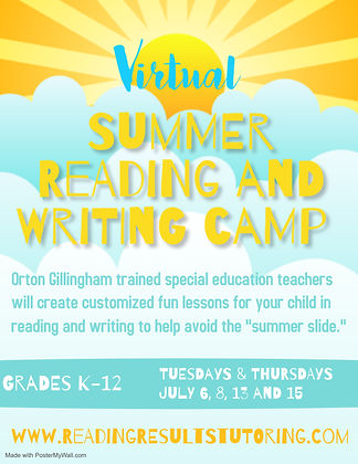 Copy of Virtual Summer Camp - Made with