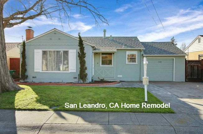 San Leandro Home Remodel