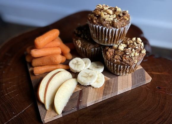 Carrot Apple Muffins by Kim