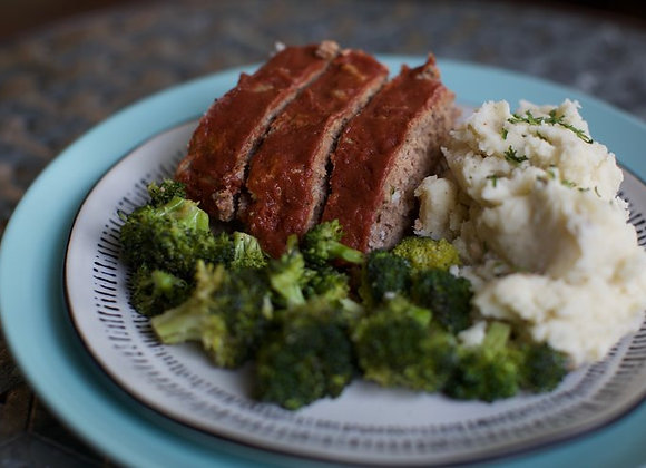 NOT YOUR MOMMA'S MEATLOAF