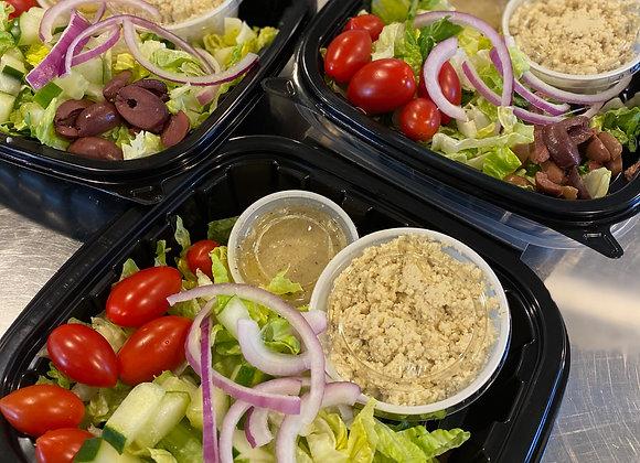 Tofu Feta Greek Salad