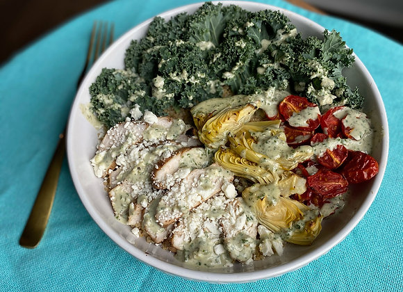 Pesto Chicken Bowl